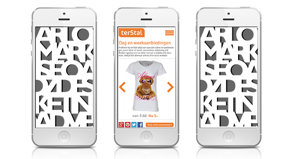 Digitale media apps design