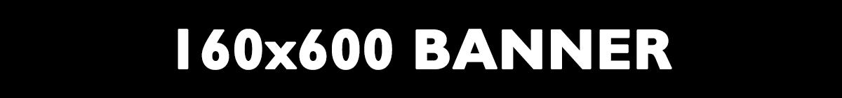 160x600 banner