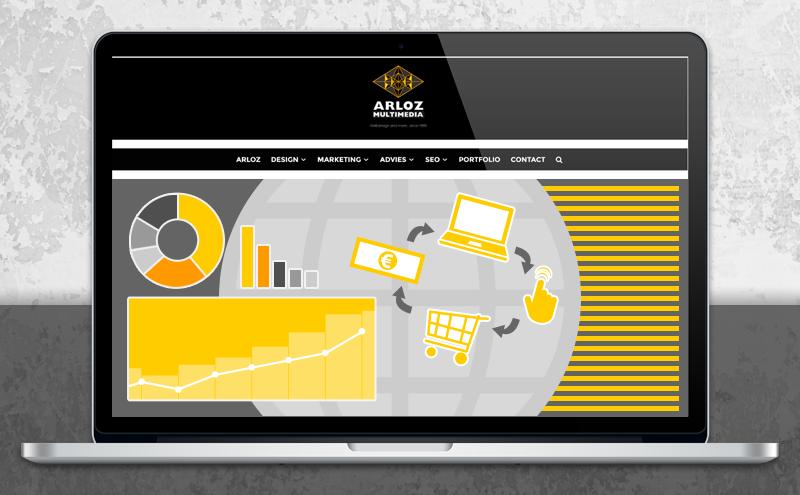 Internet marketing, affiliate optimalisatie, advies en banners door Arloz!