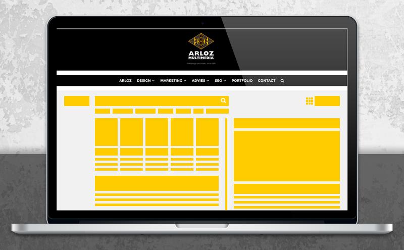 SEO marketing, zoekmachine positie optimalisatie door Arloz