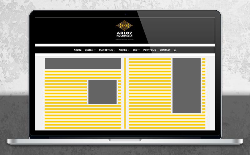 Bannerpakket advertentieformaten voor display en affiliate banners
