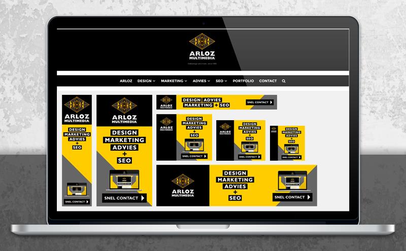 Bannerpakket voor affiliate en display banneradvertenties