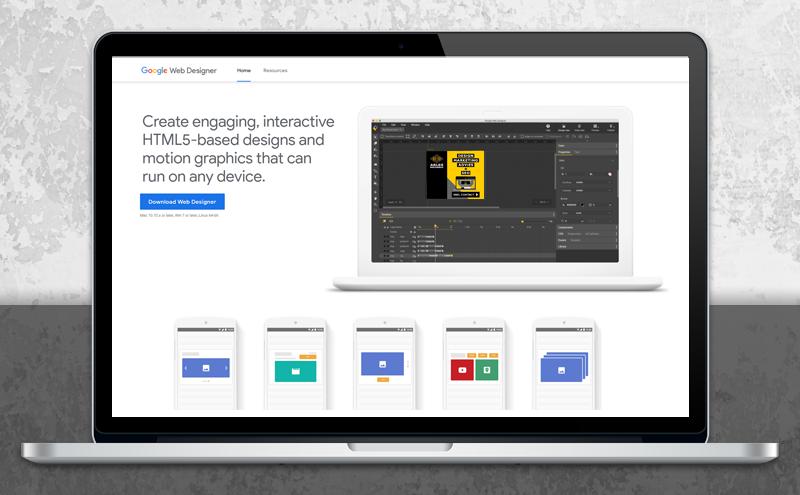 Amp html banneradvertentie Google Web Designer, ontwerp snelle banners voor mobiele apparaten!