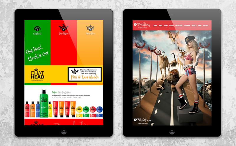 Interactie ontwerp webdesign Arloz, website voorbeeld Flash webdesign!
