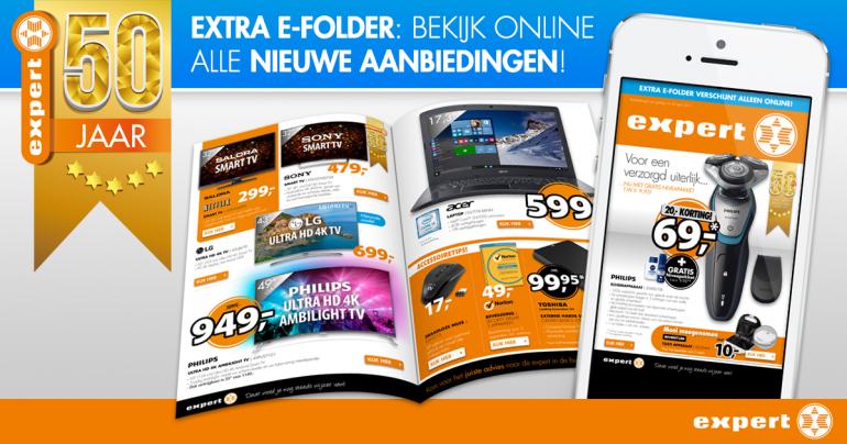 Webshop retail folder webshop banner ontwerp voor Expert door Arloz