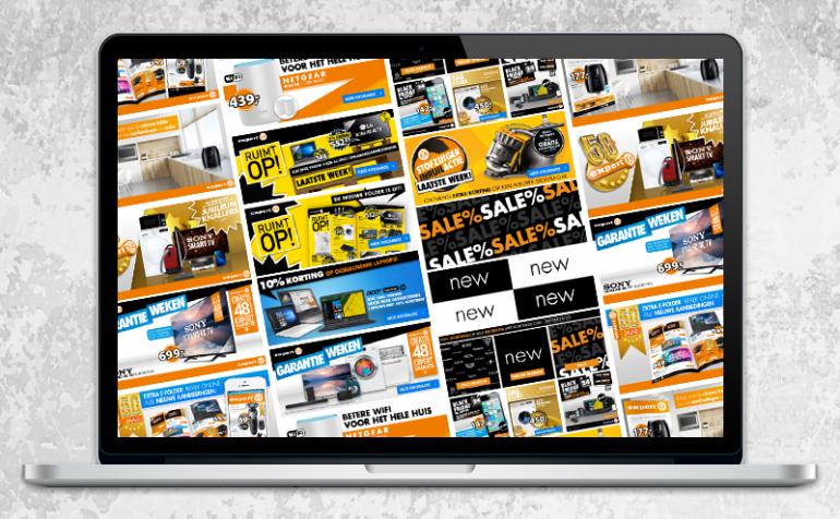 Webshop banners covers homepage sliders voorbeelden van shop design door Arloz Multimedia uit Oldenzaal (Twente).