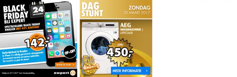 Webshop dagaanbieding banner dagstunt e-commerce ontwerp door Arloz